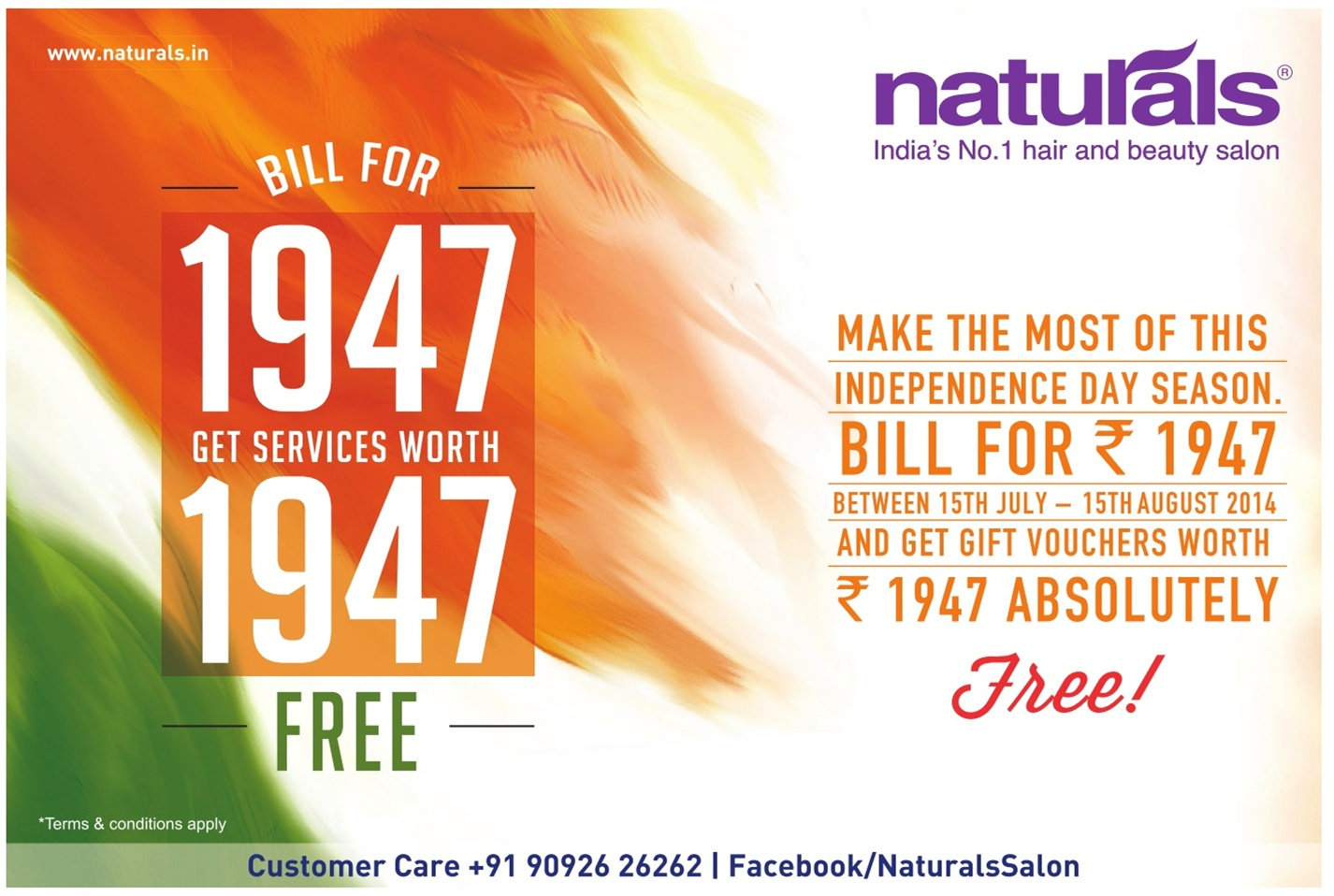 1947 Promotion from Naturals